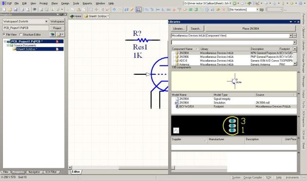 Mencari Komponen dalam Library Altium PCB Designer   WanGReadY